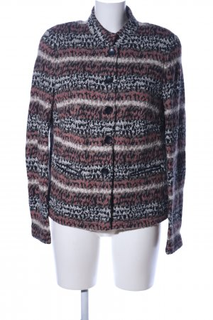 Basler Veste en tricot imprimé allover style décontracté