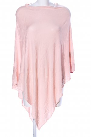 Basler Knitted Poncho pink casual look