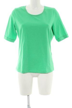 Basler T-Shirt grün Casual-Look