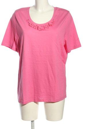 Basler T-Shirt pink Casual-Look