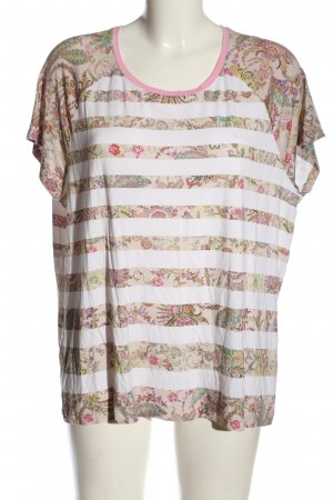 Basler T-shirt bloemenprint casual uitstraling