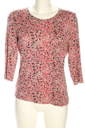 Basler T-Shirt abstraktes Muster Casual-Look