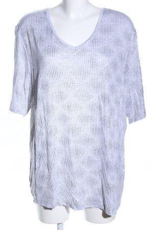 Basler T-shirt gris clair moucheté style décontracté