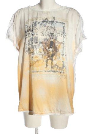 Basler T-shirt prints met een thema casual uitstraling