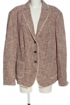 Basler Tweedblazer pink-wollweiß Casual-Look