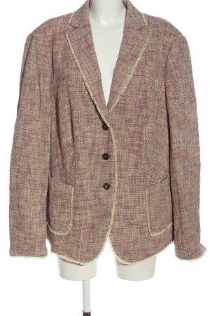 Basler Blazer Tweed rosa-blanco puro look casual