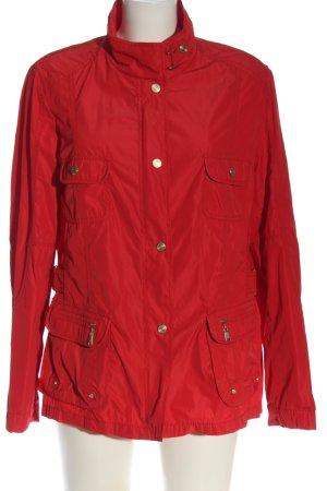 Basler Overgangsjack rood casual uitstraling