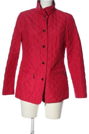 Basler Kurtka przejściowa czerwony Pikowany wzór W stylu casual