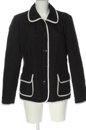 Basler Between-Seasons Jacket black quilting pattern casual look