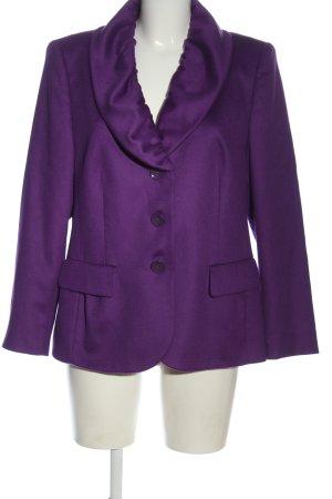 Basler Woll-Blazer lila Business-Look