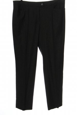 Basler Pantalón de lana negro estilo «business»
