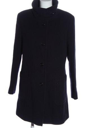 Basler Wollen jas zwart casual uitstraling
