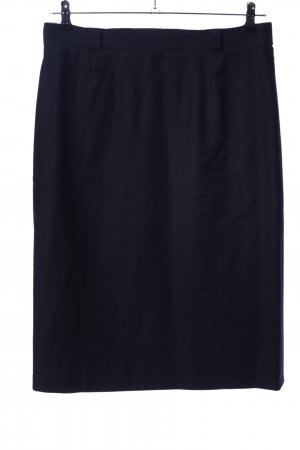 Basler Jupe en laine bleu style d'affaires