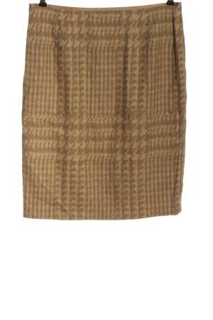 Basler Wool Skirt brown allover print casual look