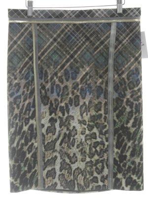 Basset Jupe crayon motif animal style d'affaires