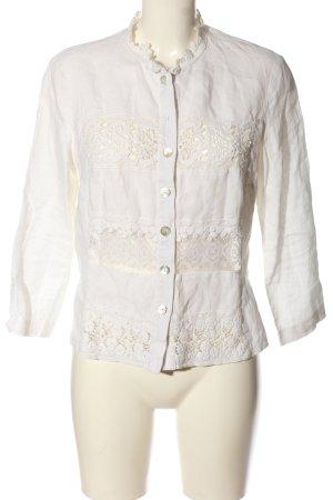 Basset Blouse Jacket white casual look