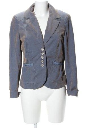 Basset Blazer court bleu style décontracté