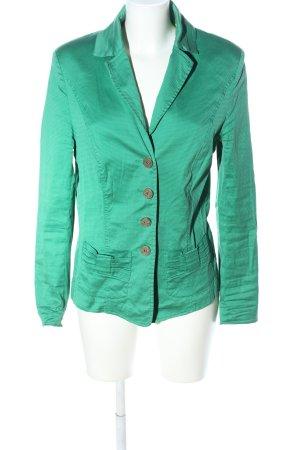 Basset Giacca corta verde stile classico