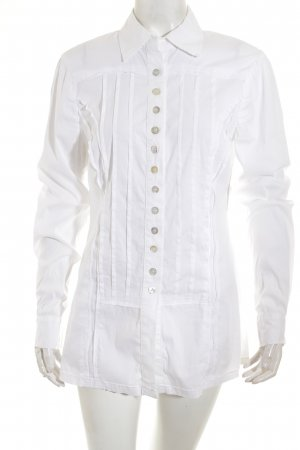 Basset Long Sleeve Blouse white casual look