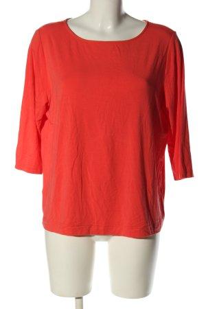 Basset Koszulka z długim rękawem czerwony W stylu casual