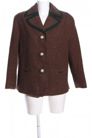 Basset Traditional Jacket brown flecked business style