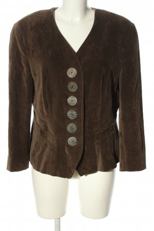 Basset Traditional Jacket brown casual look