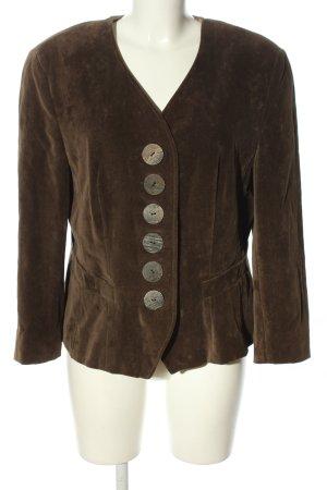 Basset Giacca tradizionale marrone stile casual
