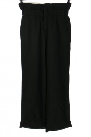 Bassike High-Waist Hose schwarz Casual-Look