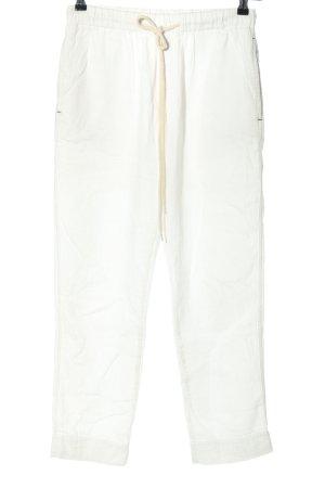 Bassike Pantalone jersey bianco stile casual