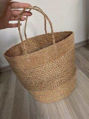 Basttasche Strandtasche Bastkorb handmade