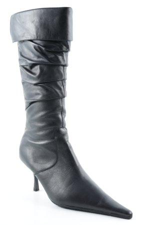 Bata Absatz Stiefel schwarz Casual-Look