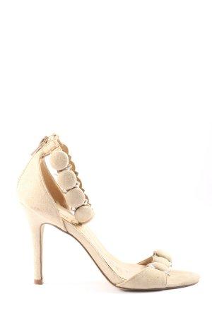 Bata High Heel Sandaletten creme Elegant