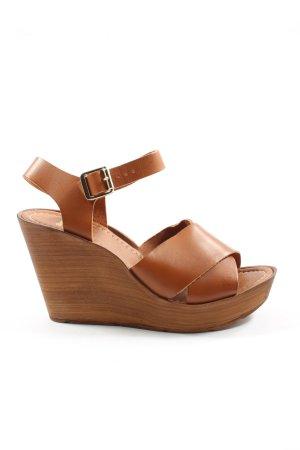 Bata High Heel Sandaletten braun Elegant