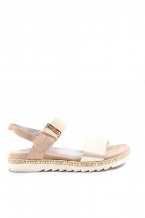 Bata Comfort Sandals gold-colored casual look