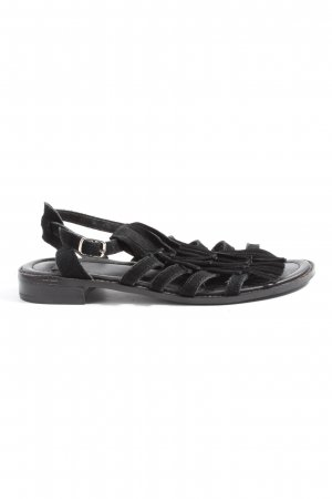 Bata Strapped Sandals black casual look