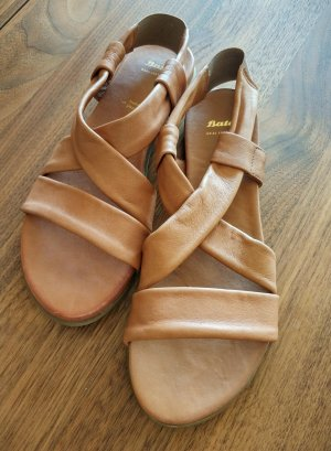 Bata Comfort Sandals light brown-brown leather