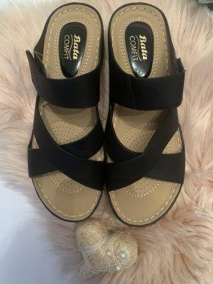 Bata Sandalias cómodas negro