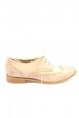 Bata Lace Shoes cream business style