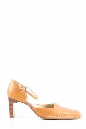 Bata Spangen-Pumps hellorange Casual-Look