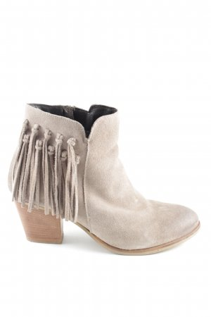 Bata Western Booties natural white business style