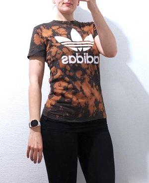 Adidas Koszulka typu batik Wielokolorowy