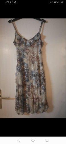 BoYco Midi Dress dark grey-sand brown