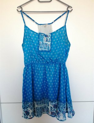 Alcott Chiffon jurk lichtblauw-blauw