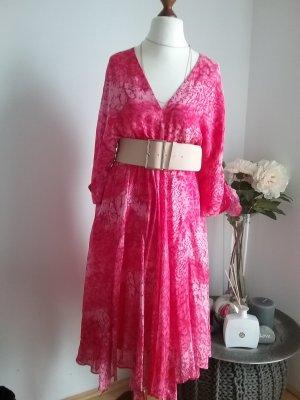 Batik-Kleid Seide (ohne Gürtel)
