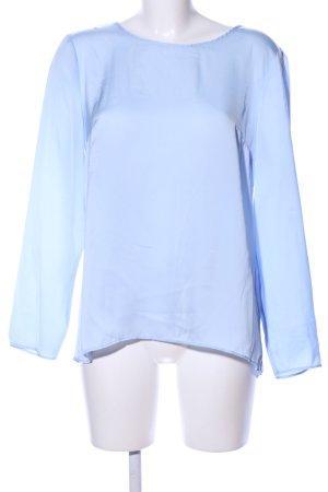 Batik Langarm-Bluse blau Casual-Look