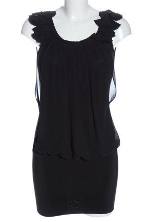 Batik Sukienka mini czarny W stylu casual
