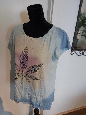 Frogbox Batik shirt veelkleurig