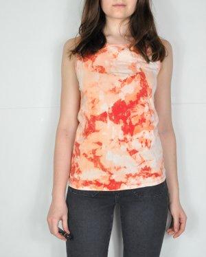 Basic Top nude-orange