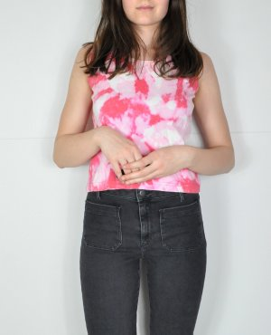 Batik Vintage Top in Rosa
