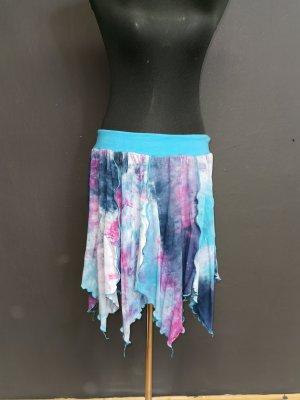 Handmade Asymetryczna spódniczka jasnoniebieski